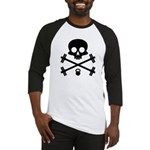 Skull and Cross Fitness Baseball Jersey