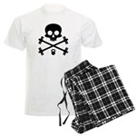 Skull and Cross Fitness Men's Light Pajamas