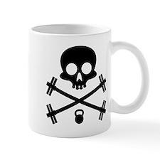 Skull and Cross Fitness Small Mugs