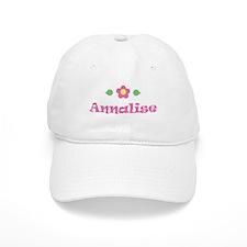 "Pink Daisy - ""Annalise"" Baseball Cap"