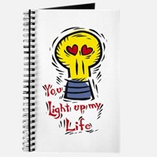You light up my life Journal