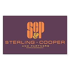 SC&P Mad Men Logo Decal