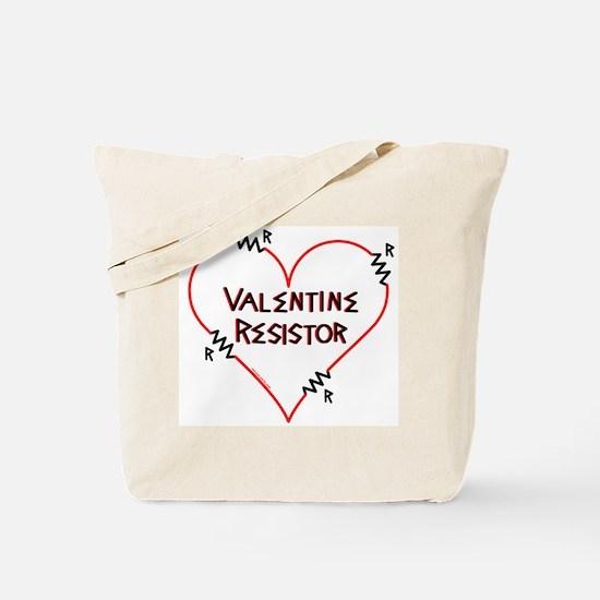 Valentine Resistor Tote Bag