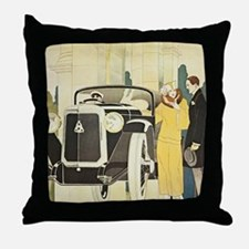 Art Deco Rendevous Throw Pillow