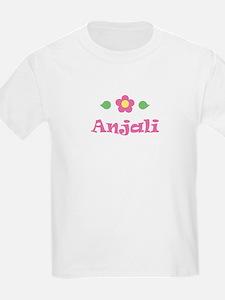 "Pink Daisy - ""Anjali"" Kids T-Shirt"
