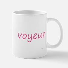 voyeur pink Mug
