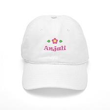 "Pink Daisy - ""Anjali"" Baseball Cap"