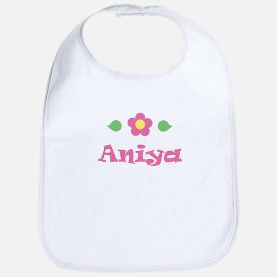 """Pink Daisy - """"Aniya"""" Bib"""