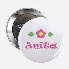 "Pink Daisy - ""Anita"" Button"