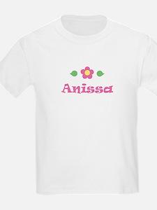 "Pink Daisy - ""Anissa"" Kids T-Shirt"