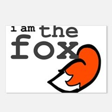 I Am The Fox Postcards (Package of 8)