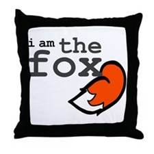 I Am The Fox Throw Pillow