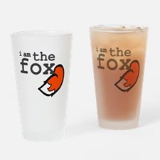 I Am The Fox Drinking Glass