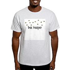 Bee Keeper Ash Grey T-Shirt