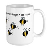 Bee keeper Large Mugs (15 oz)