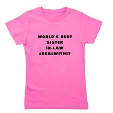 World's Best Sister-In-Law (Hashtag) Girl's Tee
