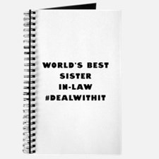 World's Best Sister-In-Law (Hashtag) Journal