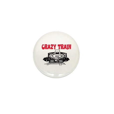 CRAZY TRAIN Mini Button (10 pack)