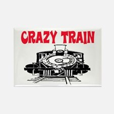 CRAZY TRAIN Rectangle Magnet