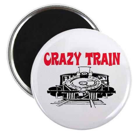 "CRAZY TRAIN 2.25"" Magnet (10 pack)"