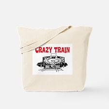 CRAZY TRAIN Tote Bag
