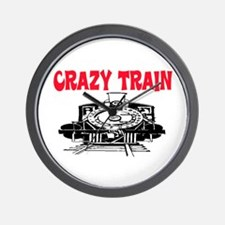 CRAZY TRAIN Wall Clock