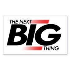 Next Big Thing Rectangle Decal