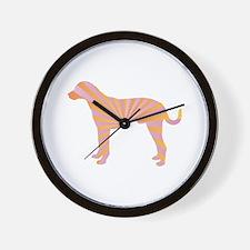 Catahoula Rays Wall Clock