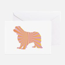 Cavalier Rays Greeting Cards (Pk of 10)