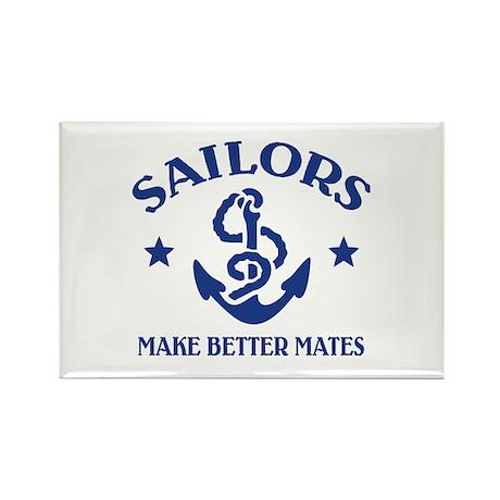 Sailors Make Better Mates Rectangle Magnet