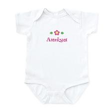 """Pink Daisy - """"Amiya"""" Infant Bodysuit"""