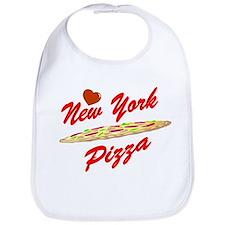 Love New York Pizza Bib