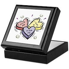 Conversation Hearts Keepsake Box