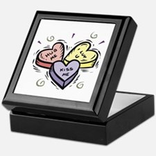 Conversation Hearts Keepsake Box