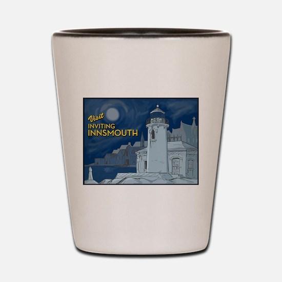 Visit Inviting Innsmouth Shot Glass