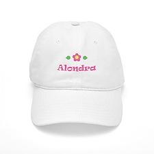 """Pink Daisy - """"Alondra"""" Baseball Cap"""