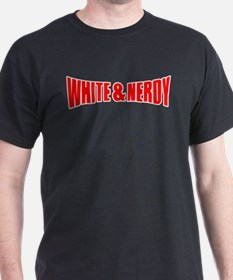 White & Nerdy T-Shirt
