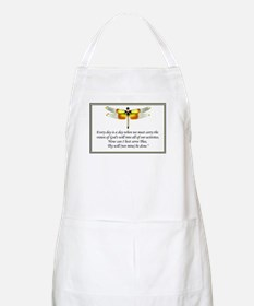 """""""God's Will be done"""" BBQ Apron"""