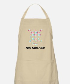 Custom Skull Colorful Snowcones Apron