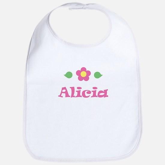 "Pink Daisy - ""Alicia"" Bib"