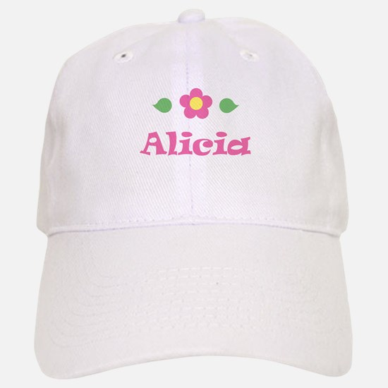 "Pink Daisy - ""Alicia"" Baseball Baseball Cap"
