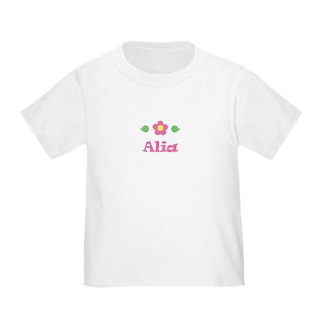 "Pink Daisy - ""Alia"" Toddler T-Shirt"