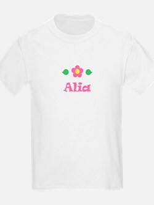 "Pink Daisy - ""Alia"" Kids T-Shirt"