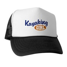 Kayaking Girl Trucker Hat