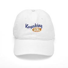 Kayaking Girl Baseball Cap