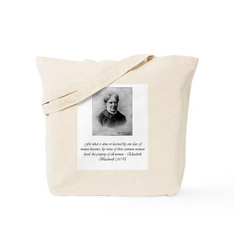 Tote Bag - Elizabeth Blackwell, MD