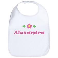 "Pink Daisy - ""Alexandra"" Bib"