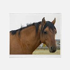 Ruger- Kiger Mustang Throw Blanket