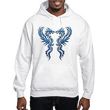 Twin Dragons: Blue Hoodie