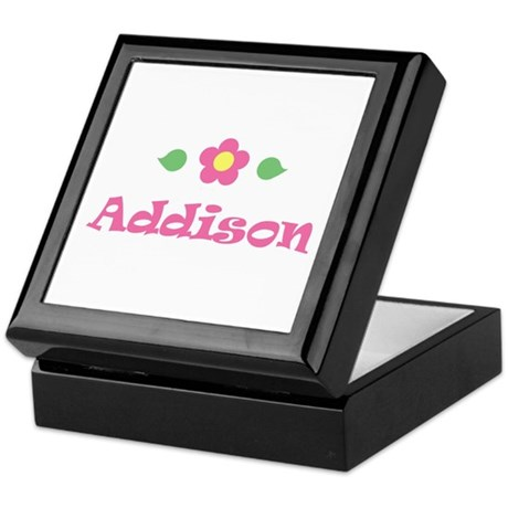 "Pink Daisy - ""Addison"" Keepsake Box"
